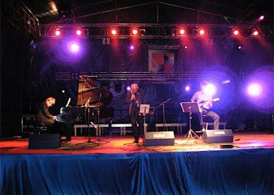 Concert, Pologne, avec Pierre-Marie Bonafos et Julien Chevalier
