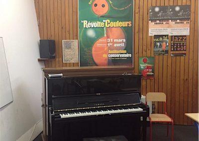 Salle de cours, ancien Conservatoire de Gennevilliers